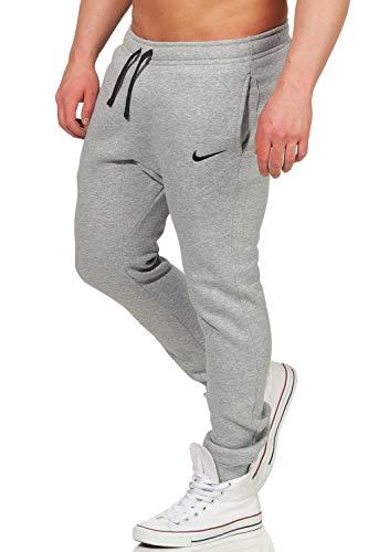 Nike M CFD FLC TM CLUB19 - Pantalones, Hombre, Gris/Negro, M