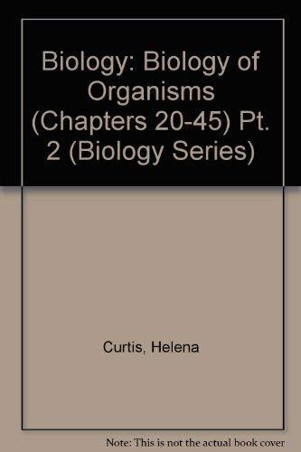 Biology of Organisms, 5th Edition (Biology, Part 2)