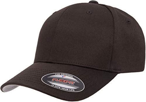 Flexfit Herren Men's Athletic Baseball Fitted Cap Kappe, braun, L/XL