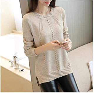 BEESCLOVER 2018 Autumn Women Sweater Outerwear Fashion O-Neck Pullover Winter Render Tees Casual Solid Female Sweater LADIES593