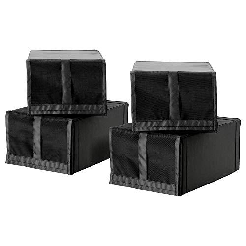 IKEA 103.000.36 Skubb - Zapatero, color negro