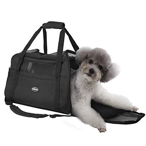 Nobleza - Bolso transportín de Viaje Plegable para Perros y Gatos. Tela...