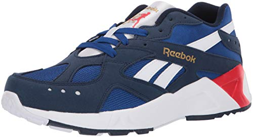 Reebok Unisex Adult's AZTREK Sneaker Collegiate Navy/Royal 10.5 M US