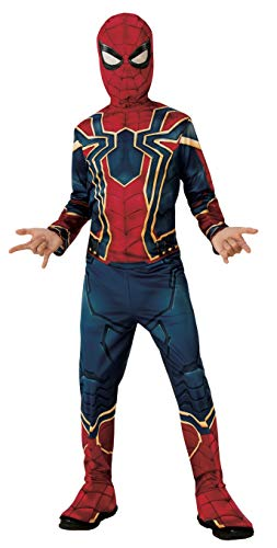 Rubie's Disfraz Avengers Official Iron Spider, Spiderman Classic, Talla M, 5-7 anos, altura 132 cm (700659_M)