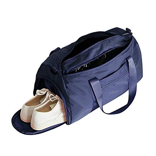 Bolsa de gimnasio para hombre, bolsa de deporte, gimnasio, gimnasio, viaje, fitness, yoga,, azul oscuro (Azul) - SE19044FQA2