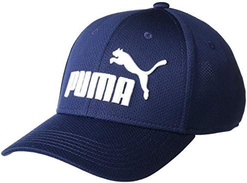 PUMA Men s Evercat Luke Stretch Fit Cap Navy L X Large product image