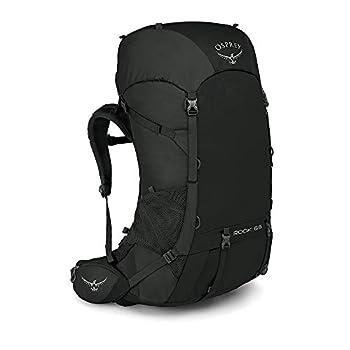 Osprey Rook 65 Men's Ventilated Backpacking Pack - Black (O/S)