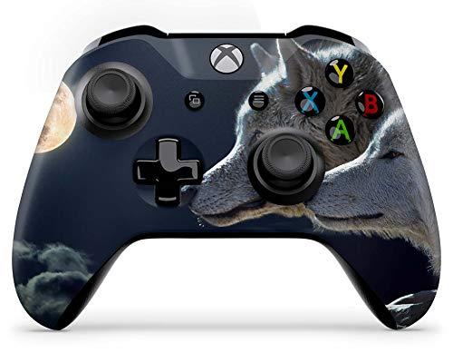 Skins4u Aufkleber Design Schutzfolie Vinyl Skin kompatibel mit Xbox One Controller Wölfe