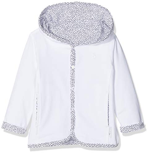 Noppies Unisex Baby U Cardigan rev Haye Strickjacke, Weiß (White C001), 68