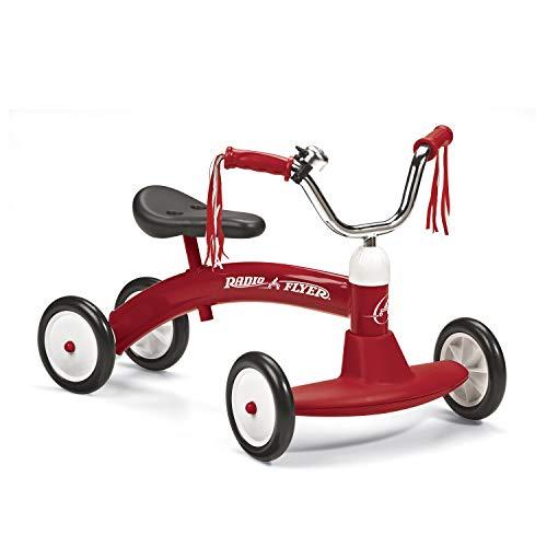 Radio Flyer- Bebés y Primera infanciaDesarrollo de Actividades motorasRADIO FLYERCorrepasillos, Color Rojo (20A)
