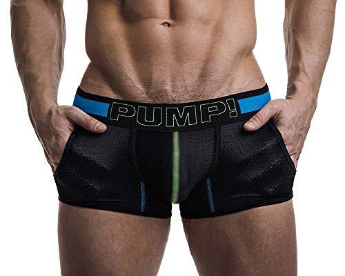 PUMP! Herren Boxershorts Sonic Jogger 11048, schwarz