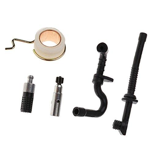 F Fityle Kit Filtro Olio per Pompa Olio per Ingranaggi A Vite Senza Fine per STIHL MS180 MS170 018 017