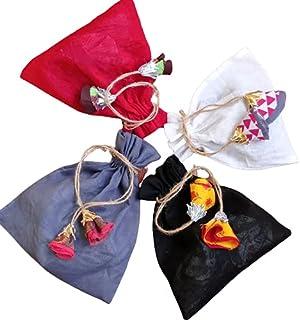 PARISAA's Potli | Return Gift Potli | Organic Cotton Voil Jute Drawstring potli bags/Multi Color Packing Pouches | Multi U...
