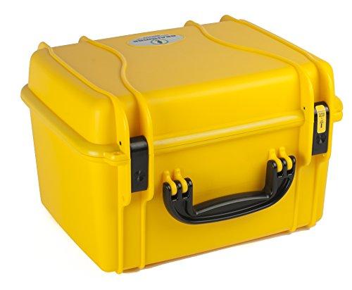 Seahorse SE-540 Quick Draw Case for 4 Handguns (Yellow)