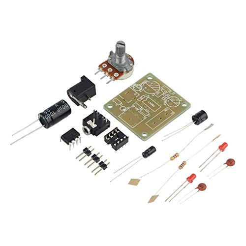 itYukiko LM386 DIY Mini Amplifier Board High Performance Module 3V-12V Audio Amplifier Module Compact Electronic Accessoires