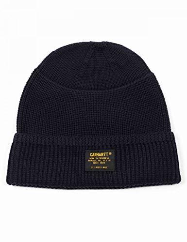 Carhartt WIP Truman Beanie Hat - Dark Navy ONE Size Dark Navy