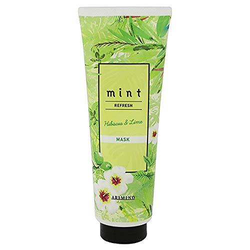 【アリミノ】ミント マスク リフレッシュ &ltスカルプ・ヘアトリートメント&gt200g ハイビスカス&ライムの香り