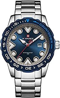 Naviforce Casual Watch For Men Analog Stainless Steel - 9178