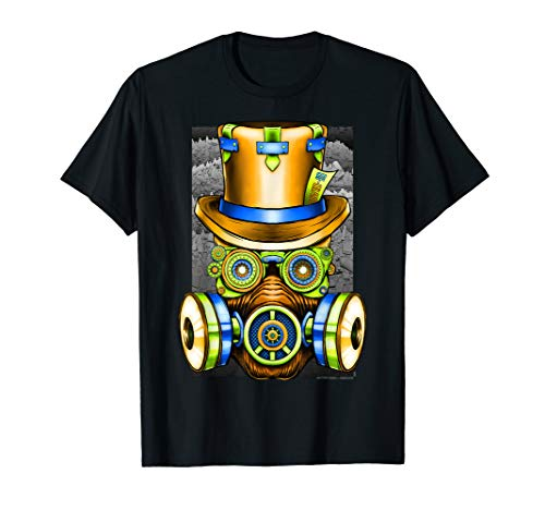 2020 Steampunk Tophat Gadget Frames Artwork T-Shirt