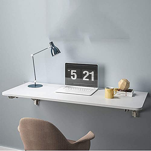OUWTE Tables,Folding Table Wall-Mounted Computer Table Dining Table Study Table Desk Wall Fixed Wall-Mounted Kitchen Small Apartment Board Wall-Mounted,60 * 40