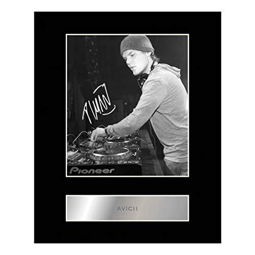 Avicii Signiert Foto Display