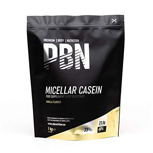 Premium Body Nutrition Micellar Casein Vanilla 1kg Pouch