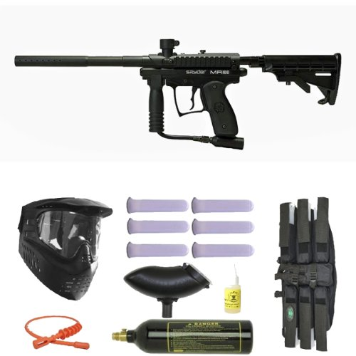 Spyder MR100 Pro Paintball Gun Marker Mega Set