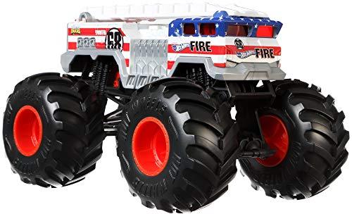 Hot Wheels Monster Trucks 1:24 5 Alarm Vehicle [Amazon Exclusive]