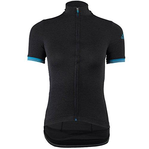 adidas - Radsport-Jacken für Damen in - Black/Solar Blue, Größe S