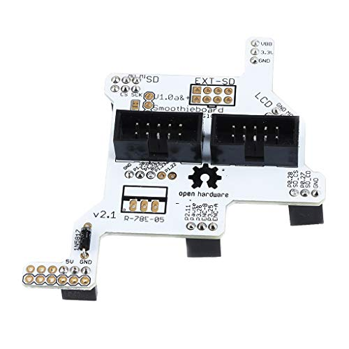 Engraving Machine Smoothieboard 5x v1.1 GLCD Adapter Screen Display Board for 3D Printer