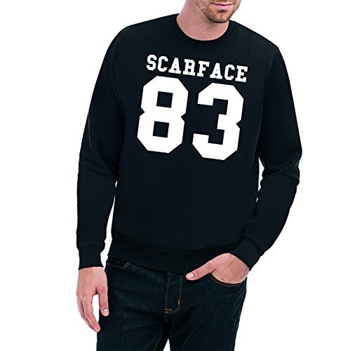 Certified Freak Scarface 83 Sweater Black-L