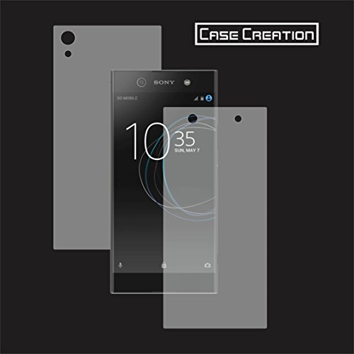 Case Creation Front Back Screen Guard for Xperia XA1-Ultra,360 Degree Shield Full Body Scratch Coverage for Sony Xperia XA1 Ultra
