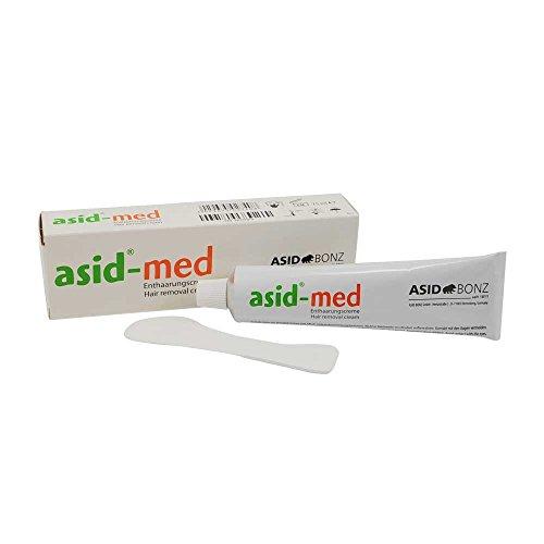 Enthaarungscreme asid®-med von ASID BONZ, Haarentfernung, Enthaarung,unisex, parfümfrei, 75 ml