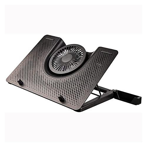 HKJZ SFLRW Refrigerador para portátil, Almohadilla de enfriamiento portátil: Altura portátil Ajustable Portátil de enfriamiento del Ventilador de enfriamiento