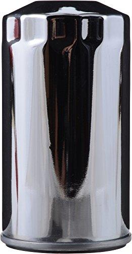 FRAM PH6068 Chrome Spin-on Motorcycle Oil Filter , black