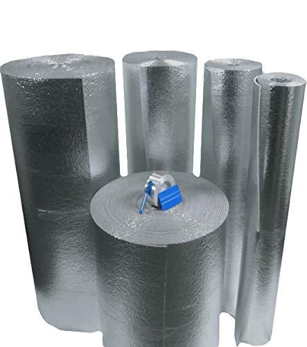 home insulations Car Insulation - 4' x 10' Roll (40 Sqft) Sound Deadener & Heat Barrier Mat - Automotive Lightweight Thermal Insulation