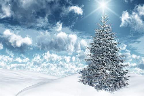KCHUEAN 1000 Piezas Rompecabezas Decoracion De Muebles Nieve Cielo Invierno Abeto De Madera Montaje Personalizado