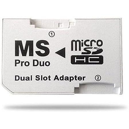 Cablepelado - Adattatore micro SD a Memory Stick Pro Duo Dual