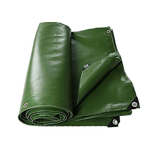 LIYG Im Freien Dicker Poncho-Hochleistungsplanenplanen wasserdicht und UV-beständig (Color : Green, Size : 4X8M)