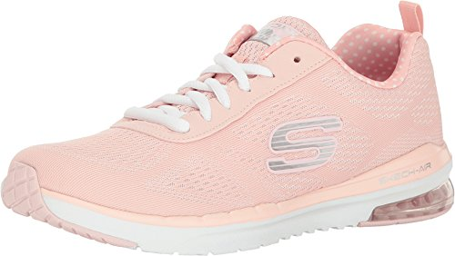 Skechers Air Infinity, Chaussures Multisport Outdoor Femme, Rose (Ltpk), 36 EU