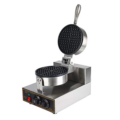 Huishoudelijke Waffle Machine, wafelijzer Non Stick, verstelbare Temperature Control, Dubbelzijdig Verwarming, Smart Timing functie, for Cafe, Tea House, Familie, Etc.