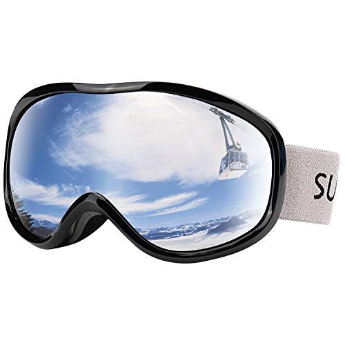 Supertrip Skibrille Herren Damen Snowboardbrille für Skifahrer Antifog UV400-Schutz Wintersportarten Skifahren