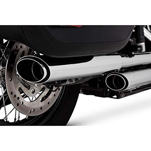 "Vance & Hines Twin Slash 3"" Round Slip Ons Chrome 16879"