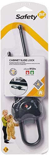 Safety 1st 33110039 Blocca maniglie universale scorrevole per ante e armadi con maniglie e pomelli, colore nero