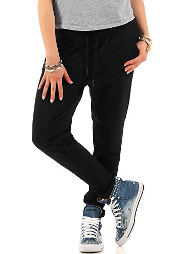 Only 15115847 - Pantalones Mujer, Negro (Black), W36/L30