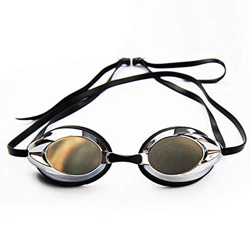 Zwembrillen | Zwembrillen voor Mannen Vrouwen Volwassenen - Beste Niet Lekken Anti-Fog UV Bescherming Clear Vision Zwart 1