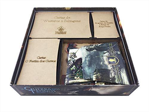 Organizador (Insert) para Game of Thrones - Bucaneiros Jogos