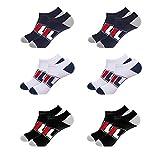Fila - Lote de 6 pares de calcetines cortos Blanche/Noir/Marine 35-38