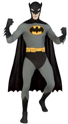 Déguisement Seconde peau Batman adulte - Small