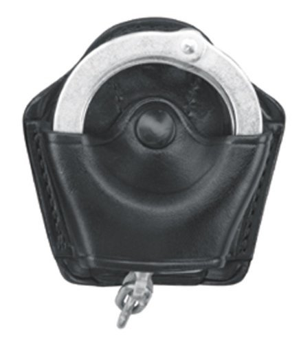 Gould & Goodrich B820 Gold Line Handcuff Case (Black) Holds most chain cuffs including S&W 200 and 300 and most hinged cuffs. by Gould & Goodrich